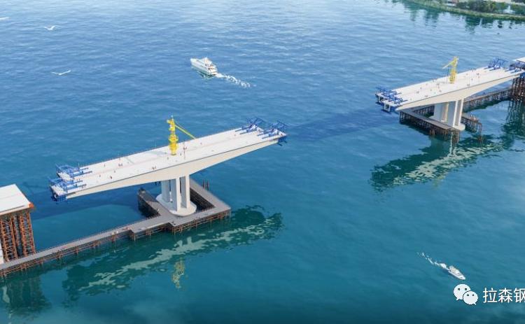 高潮差环境下承受正逆水平压力的钢板桩围堰施工技术