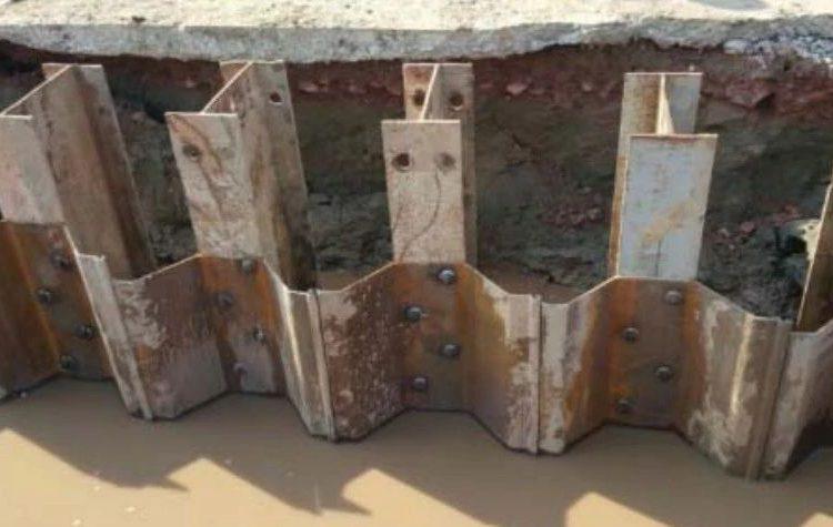 帽型H型钢组合钢板桩在软土基坑中的应用