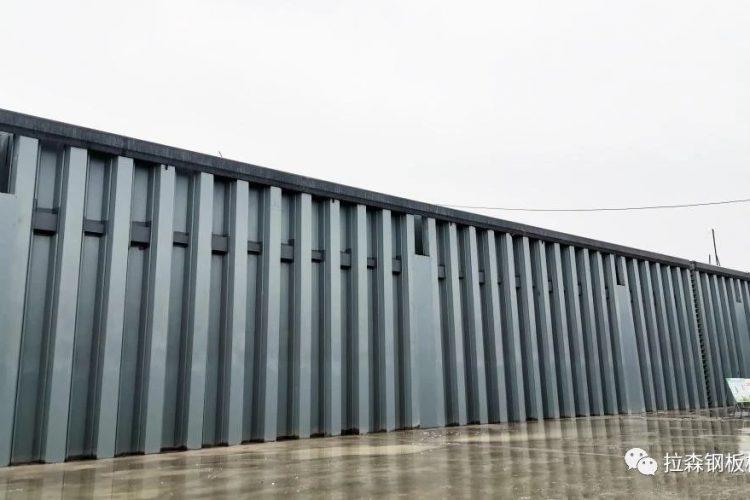 江苏最大钢板桩闸室船闸-常州前黄枢纽工程